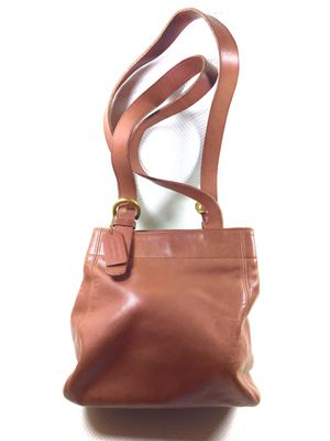 90s Vintage COACH Brown Leather Soho Tote Bag for Sale in Pomona, CA