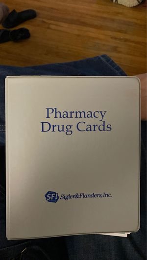 Pharmacy drug cards for Sale in Worcester, MA
