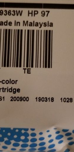 Hp Ink Cartridge 97 for Sale in Bowie,  MD