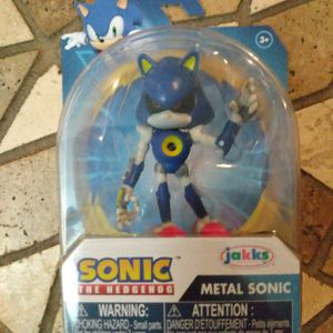 Brand New Sonic The Hedgehog Metal Sonic Figure In Package Unopened Mint Condition for Sale in Orlando, FL