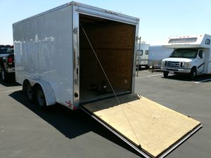 14' enclosed rental trailer. 7' wide x 6.5' tall. Side door + 4 D rings in floor. $120/ day. for Sale in Irvine, CA