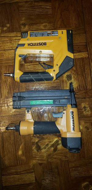 Bostitch nailer and stapler for Sale in Waynesville, NC