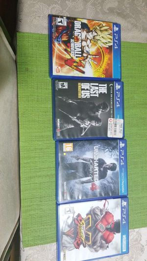 Ps4 games 20 each for Sale in Oxon Hill, MD