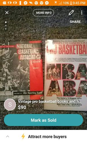 NBA GUIDE 1961/62 and the pro basketball NBA aba for Sale for sale  Newport Beach, CA