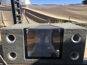 "15"" dual sub band pass box for Sale in Beaumont, CA"