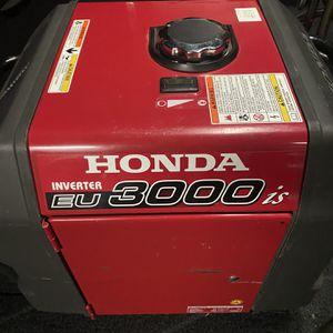 Honda 3000is Generator /Electric Start Or Pull Start for Sale in Oceanside, CA