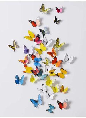 3D Butterflies Wall Sticker - Decor for Sale in Orange, CA