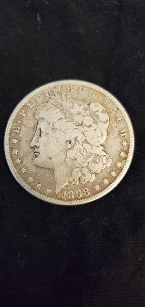 1898-S Morgan Silver dollar. (Circulated) (non proof) (certified pending) for Sale in Los Angeles, CA
