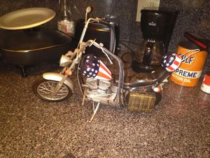69 easy rider captain America motorcycle it's a diecast bike no gas no motor for Sale in Philadelphia, PA