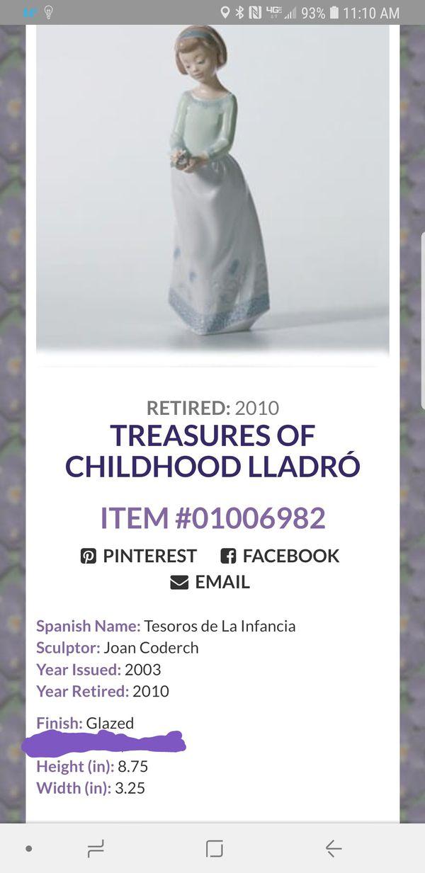 Lladro treasures of childhood figurine