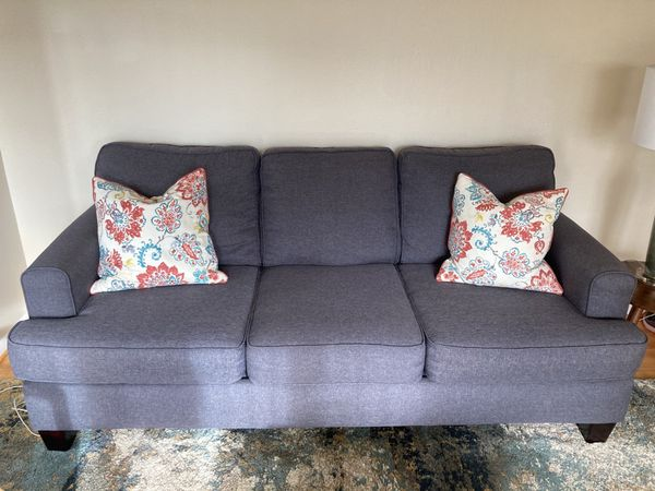 Couch- dark gray (pillows not included)