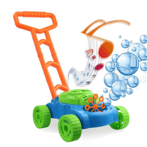 Bubble Lawn Mower with Music