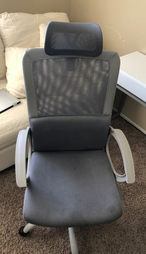 Grey Office Chair (Flexible on Price) for Sale in Tempe, AZ