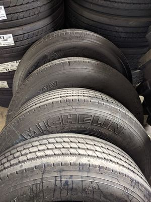 Michelin RV Tires LIKE NEW!! for Sale in Pompano Beach, FL