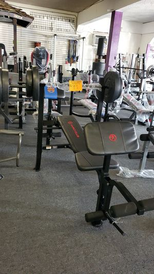 Bench and weights for Sale in South Gate, CA