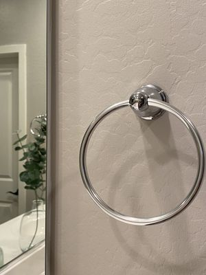 Towel rings total of 4 for Sale in Goodyear, AZ