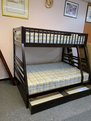 New twin / full bunk bed with mattress $499 best deal in town for Sale in Nashville, TN