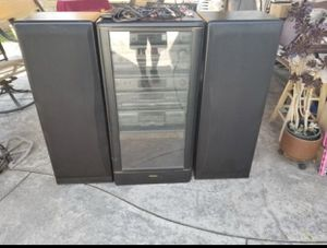 Technics home Stereo System . No Remote controller,with upgrade Tower Speakers in excellent condition hi quality sounds for Sale in Los Angeles, CA