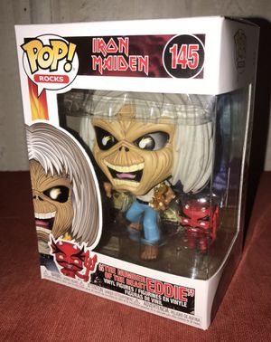 Funko POP Iron Maiden Number of the Beast Eddie for Sale in Fort Bliss, TX