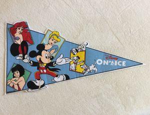 Vintage Disney On Ice Pennant Souvenir for Sale in Fresno, CA