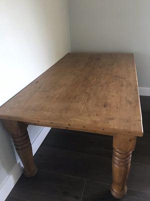 Rustic Farmhouse Dining Table for Sale in Boynton Beach, FL