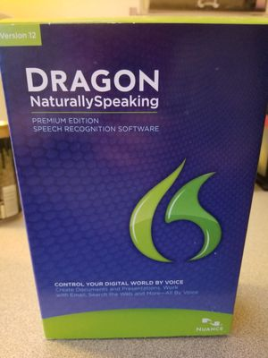 Dragon naturally speaking software for Sale in Federal Way, WA