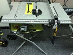 """Ryobi 10"""" Table Saw With Extension for Sale in Atlanta, GA"""