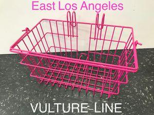 Beach cruiser pink basket for Sale in Los Angeles, CA
