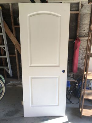 White two panel door 32x80– Right in for Sale in Huntington Beach, CA