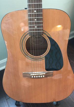 Fender Acoustic Guitar for Sale in Kansas City, KS