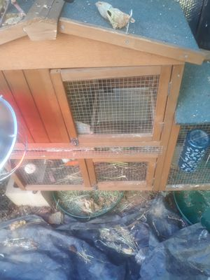 Rabbit cage for sell hit me up for more question for Sale in Moreno Valley, CA