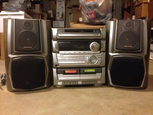 Aiwa 5-Disc Stereo System (Plus Radio, Tape, Aux) for Sale in Saint Peters, MO