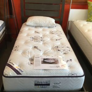 Platform Serenity Twin Panel Bed Mod Grey (NO BOX Spring Required) for Sale in Arlington, VA