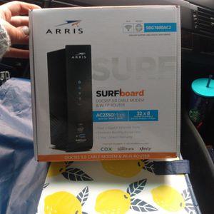 ARRIS 3.0 Modem & WiFi Router for Sale in Auburn, WA
