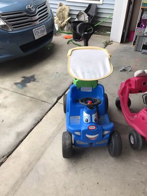 Fisher-Price blue wagon/car for Sale in Camp Lejeune, NC