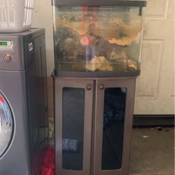 Fish Tank With Storage Cabinets for Sale in Stockton,  CA