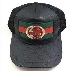 Summer Gold Gucci Emblem Exclusive Hat for Sale in Peoria, AZ