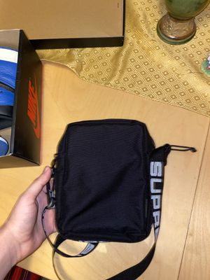 Supreme shoulder bag (SS18 black) for Sale in Red Oak, TX