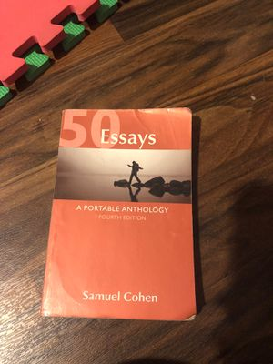Essays Fourth edition by Samuel Cohen for Sale in Moreno Valley, CA