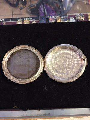 Antique silver and gold tone mirror for Sale in Miami, FL