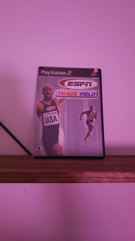 ESPN track and field [PS2]