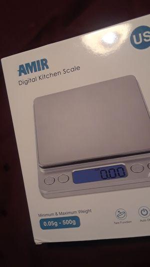 NEW! AMIR Digital Kitchen Scale, Min.05g to 500g for Sale in Orlando, FL