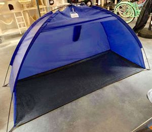 New in box $15 each 7x3 feet beach tent sun shade 3 person use blue color for Sale in Los Angeles, CA
