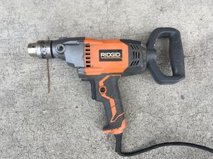 Ridgid 1/2 mud mixing drill for Sale in Los Angeles, CA