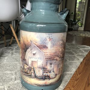 Painted Large Milk Can Jug for Sale in Danville, CA