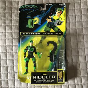 1995 Batman Forever The Riddler Toy Brand New for Sale in Culver City, CA