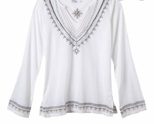 New Prana white tunic!, L for Sale in Silver Spring,  MD