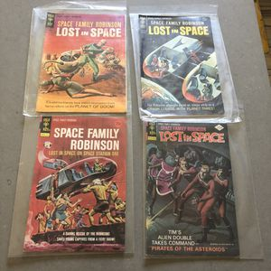 Gold key comics space family Robinson lost in space comic books for Sale in Burien, WA