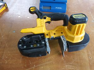 DEWALT 20-Volt MAX Lithium-Ion Cordless Band Saw (Tool-Only) for Sale in Atlanta, GA