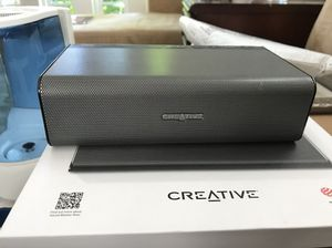 CreAtive Bluetooth Speaker with IRoar Mic for Sale in Raleigh, NC